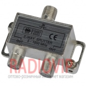 картинка Splitter 2-way Germany HQ 5-2000MHZ, корпус металл от интернет магазина Radiovip